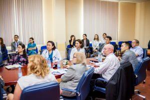 Устный перевод в Астане во время реаккредитации Национального научного кардиохирургического центра