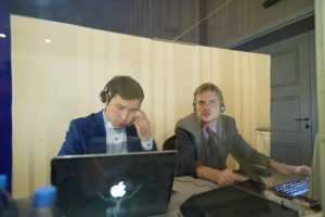 Simultaneous translation Almaty